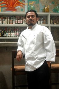 Chef Yiannis Rojas.